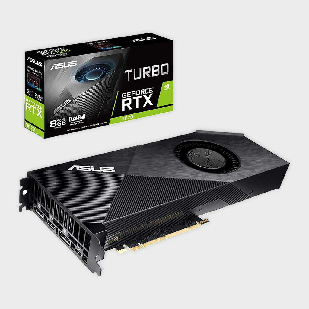 ASUS Turbo GeForce RTX™ 2070 8GB GDDR6 Graphics Card-ASUS-computerspace
