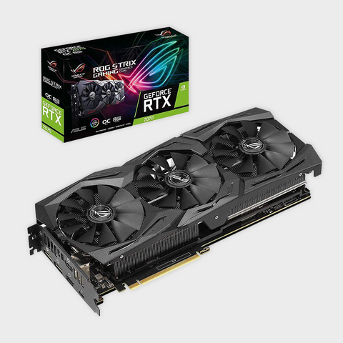 ROG Strix GeForce RTX™ 2070 OC edition 8GB GDDR6 Graphics Card-ASUS-computerspace