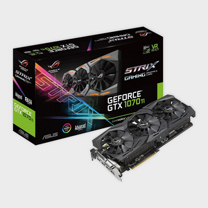 ROG Strix GeForce® GTX 1070 Ti Advanced edition 8GB GDDR5 Graphics Card-ASUS-computerspace