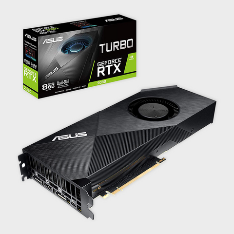 ASUS Turbo GeForce RTX™ 2080 8GB GDDR6 Graphics Card-ASUS-computerspace