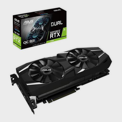 ASUS Dual GeForce RTX™ 2080 OC edition 8GB GDDR6 Graphics Card-ASUS-computerspace