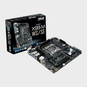 ASUS X99-M WS/SE WORKSTATION MOTHERBOARD-ASUS-computerspace
