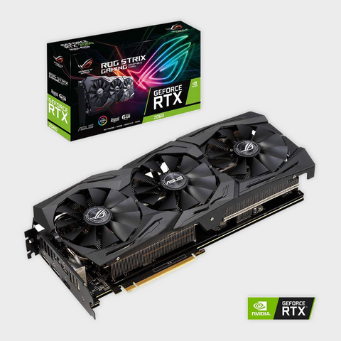 ASUS ROG Strix GeForce RTX 2060 Advanced 6G GDDR6 Graphics Card-ASUS-computerspace