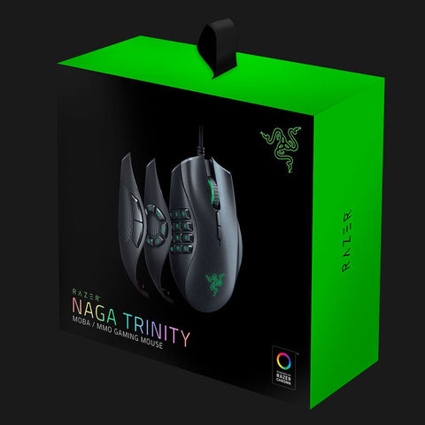 Razer Naga Trinity - Multi-color Wired MMO Gaming Mouse-Razer-computerspace