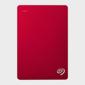Seagate 4TB Backup Plus (Red) USB 3.0 External HDD-SEAGATE-computerspace
