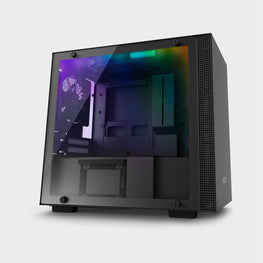 NZXT H200I Mini-ITX Case Black-computerspace