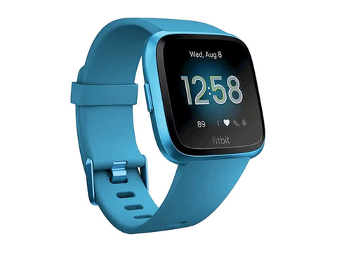 Fitbit Versa Lite Edition Smart Watch (Marina Blue)-computerspace
