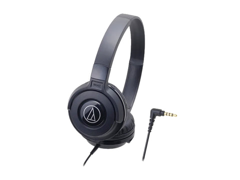 AUDIO TECHNICA STREET MONITORING OVER-EAR HEADSET- 36MM DRIVERS (BLACK)-computerspace