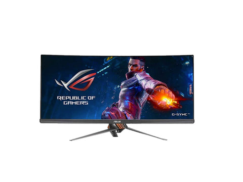 "ASUS ROG Swift 34"" Curved Ultra-Wide Eye Care G-SYNC PG348Q Gaming Monitor-computerspace"