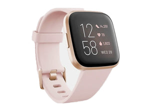 Fitbit Versa 2 Health & Fitness Smartwatch (Petal/Copper Rose)-computerspace