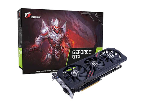 Colorful iGame GeForce GTX 1660 Ti Ultra 6G Graphics Card-computerspace