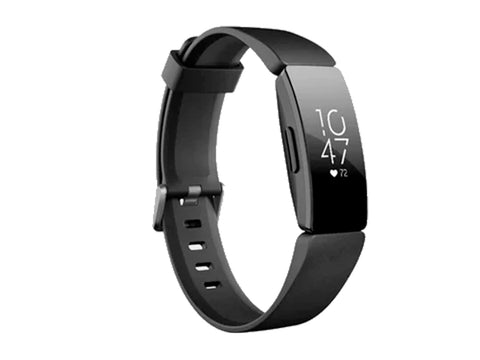 FITBIT INSPIRE HR FITNESS BAND BLACK-computerspace