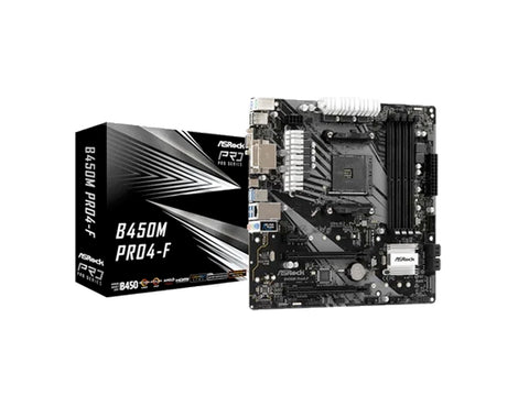 ASRock B450M Pro4-F Motherboard-computerspace
