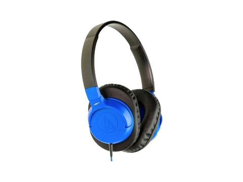 AUDIO TECHNICA SONIC FUEL OVER EAR HEADPHONES FOR SMART PHONES (Blue)
