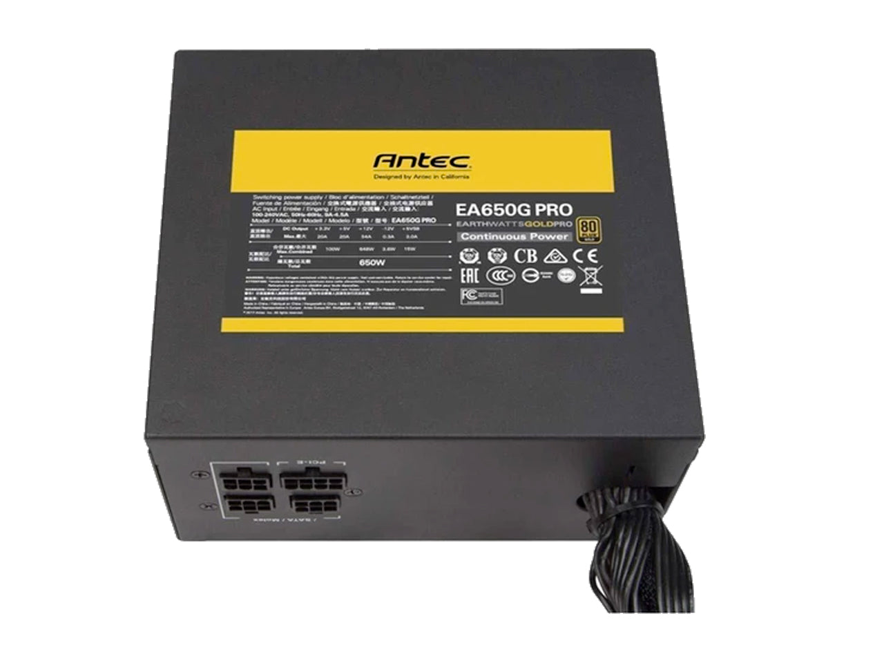 Antec EA650G PRO Earthwatts Gold Pro 650W Hybrid Modular Power Supply-computerspace