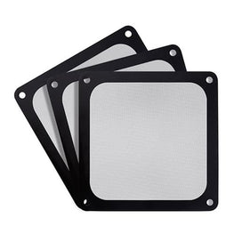 SilverStone FF123 Fan Filter - Black - 3 Pack (SST-FF123B-3PK)