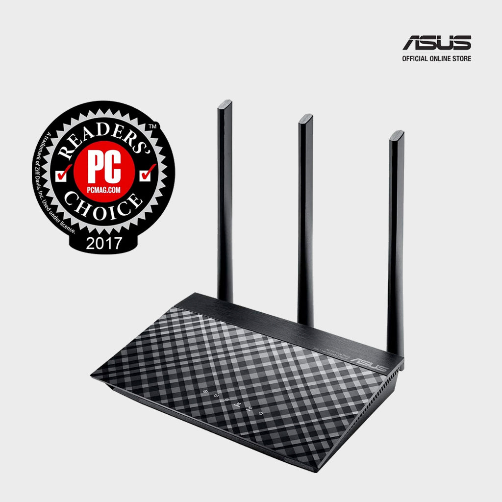 ASUS RT AC53 AC750 Gigabit Dual Band WiFi Router-computerspace