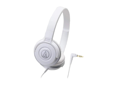 AUDIO TECHNICA STREET MONITORING OVER-EAR HEADSET- 36MM DRIVERS (WHITE)