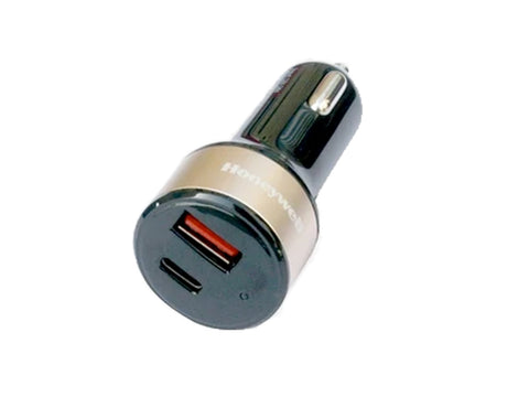 Honeywell CLA 32W PD Smart Car Charger (Gold)-computerspace