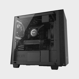 NZXT H400 MicroATX Case Black-computerspace