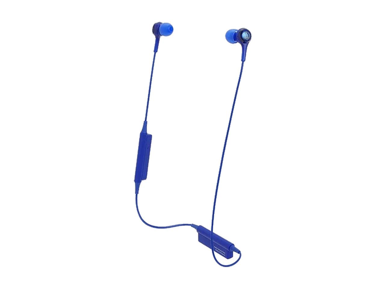 AUDIO TECHNICA WIRELESS IN EAR HEADPHONES WITH MIC (Blue)-computerspace