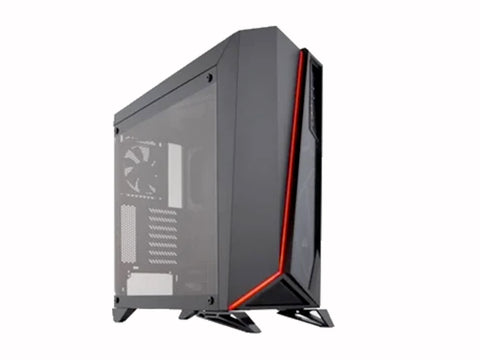 CORSAIR Carbide Tempered Glass Mid-Tower Black Cabinet-computerspace