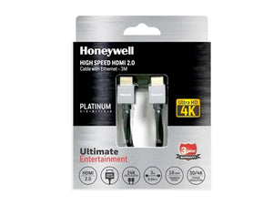Honeywell Short Collar HDMI 2.0 3Mtr with Ethernet-computerspace