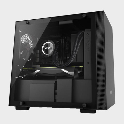 NZXT H200 Mini-ITX Case Black-computerspace