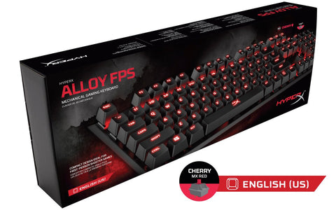 HyperX Alloy HX-KB1RD1-NA/A3 FPS Mechanical Gaming Keyboard (Cherry MX Red)-HYPERX-computerspace