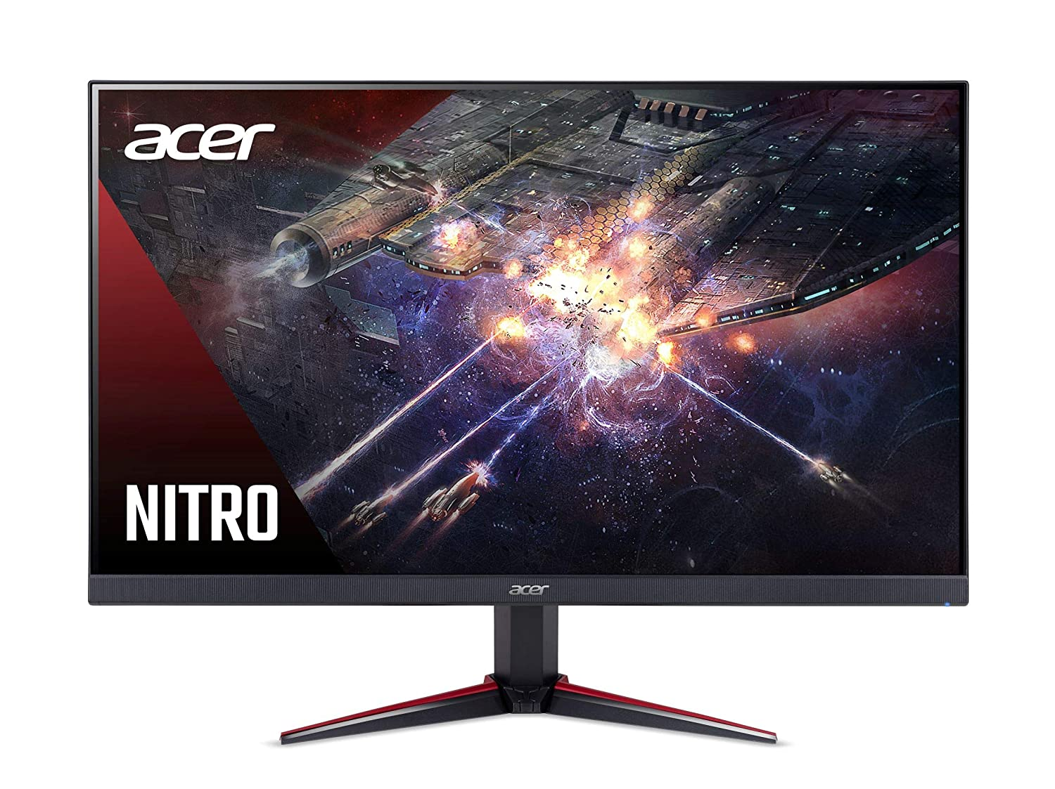 Acer Nitro 23.8 inch Full HD 1920 x 1080-0.1 MS Response Time - 165 Hz Refresh Rate IPS Gaming Monitor with AMD Radeon Free SYNC Technology -2 X HDMI 1 X Display Port