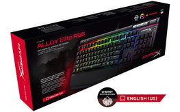 HyperX Alloy Elite RGB LED Cherry MX Brown Mechanical Gaming Keyboard (Black)-HYPERX-computerspace
