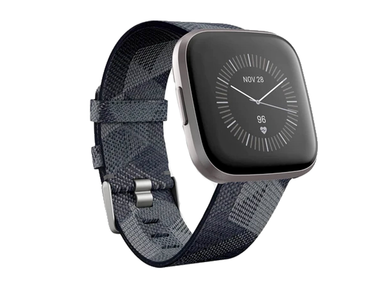 Fitbit Versa 2 Special Edition Health & Fitness Smartwatch CHARCOAL/MIST GREY-computerspace