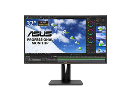 "ASUS PA329Q ""32-inch"" 4K/UHD 3840x2160 IPS (AHVA) Eye Care ProArt Monitor-computerspace"