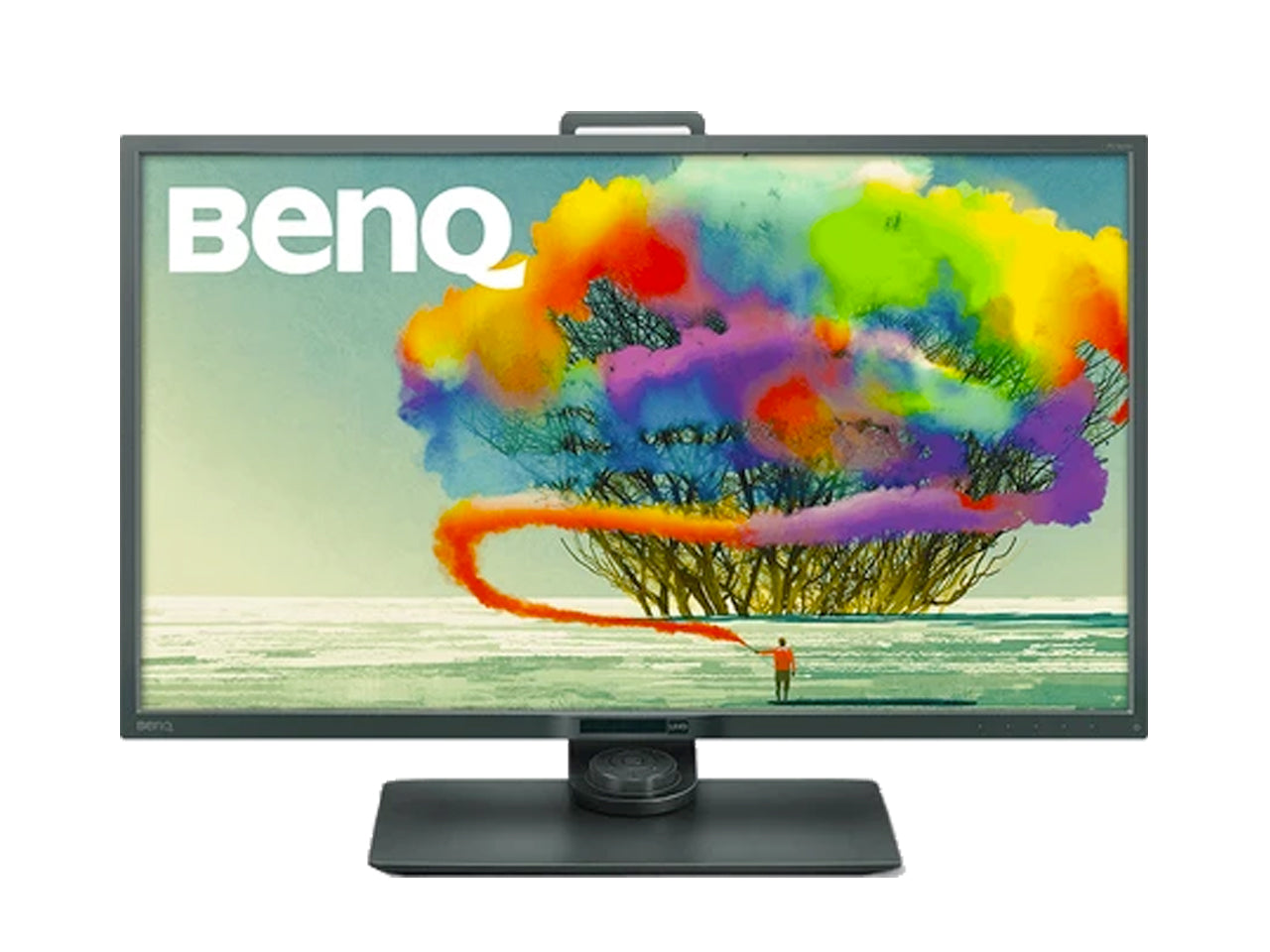 BenQ Designer with 32 inch QHD sRGB PD3200Q Monitor