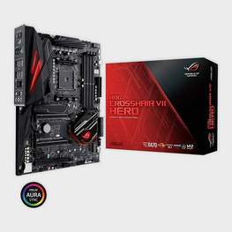 ASUS - ROG CROSSHAIR VII HERO X470 MOTHERBOARD-ASUS-computerspace
