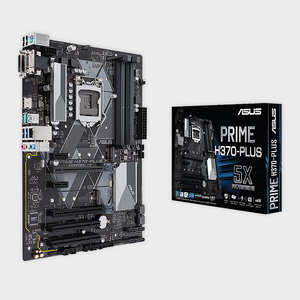 ASUS- PRIME H370-PLUS (300 SERIES) MOTHERBOARD-ASUS-computerspace