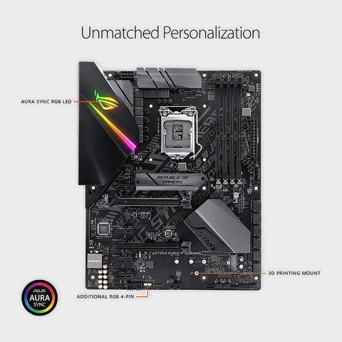 ASUS- ROG STRIX B360-F GAMING (300 SERIES) MOTHERBOARD-ASUS-computerspace