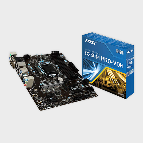 MSI Pro Series B250M PRO-VDH LGA 1151 Motherboard-MSI-computerspace