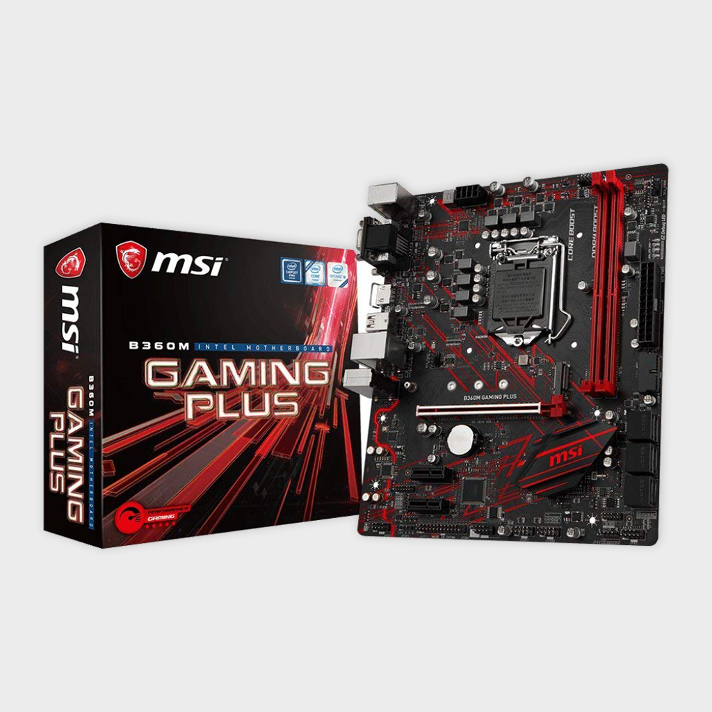 MSI B360M Gaming Plus VR Motherboard-MSI-computerspace