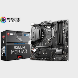 MSI B360M Mortar Arsenal Gaming LGA 1151 Motherboard-MSI-computerspace