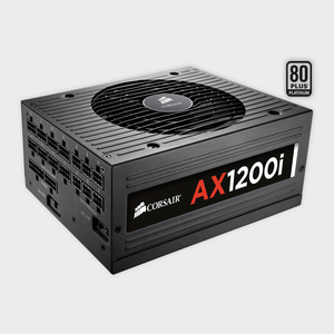CORSAIR - SMPS (CP-9020008-UK) AX SERIES 1200W AX1200I PLATINUM POWER SUPPLY-Corsair-computerspace