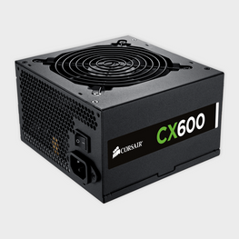 Corsair CP-9020048-UK CX Series CX600M 600 watts Power Supply-Corsair-computerspace