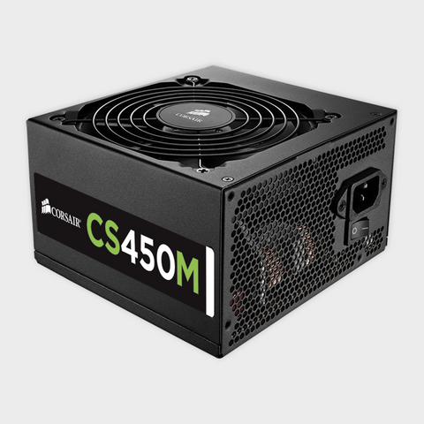 CORSAIR (CP-9020075-UK) ATX CS 450M 450 WATT POWER SUPPLY-Corsair-computerspace