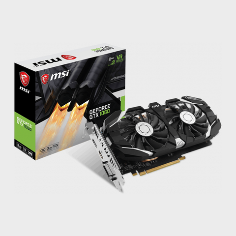 MSI GeForce GTX 1060 3GT OCV2 Graphics Card-MSI-computerspace