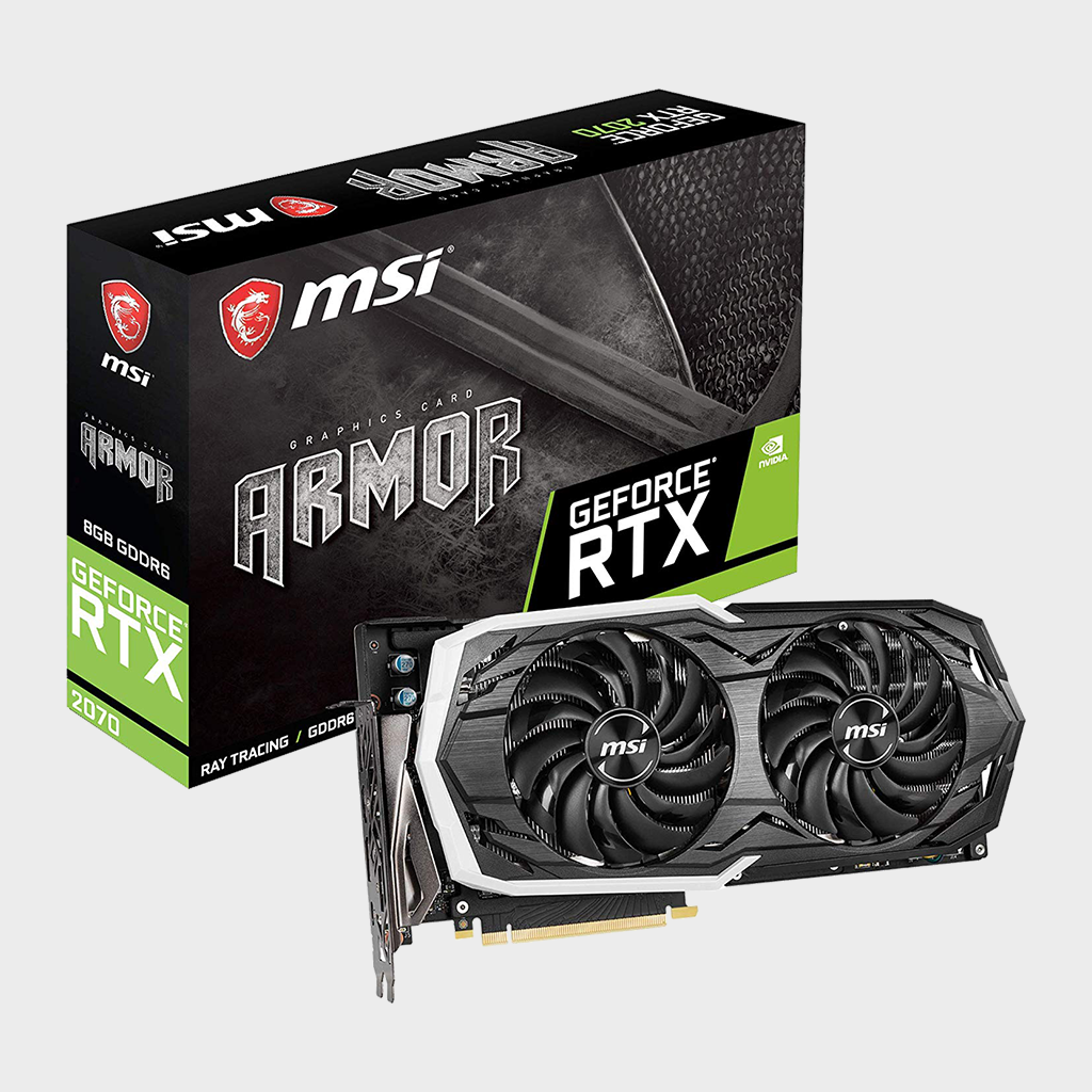 MSI Gaming GeForce RTX 2070 Armor 8G GDRR6 Graphics Card-MSI-computerspace