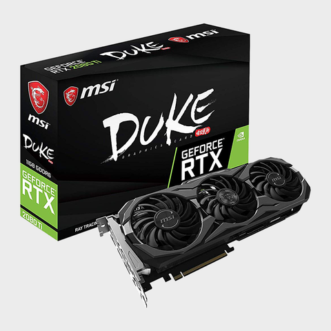 MSI GeForce RTX 2080 Ti DUKE 11G OC Graphic Card-MSI-computerspace