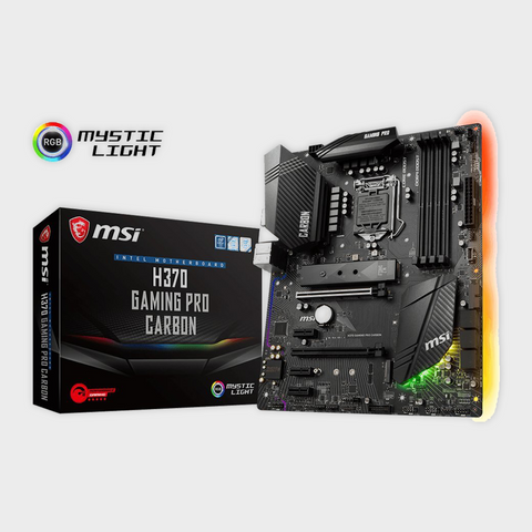 MSI H370 GAMING PRO CARBON LGA 1151 Motherboard-MSI-computerspace