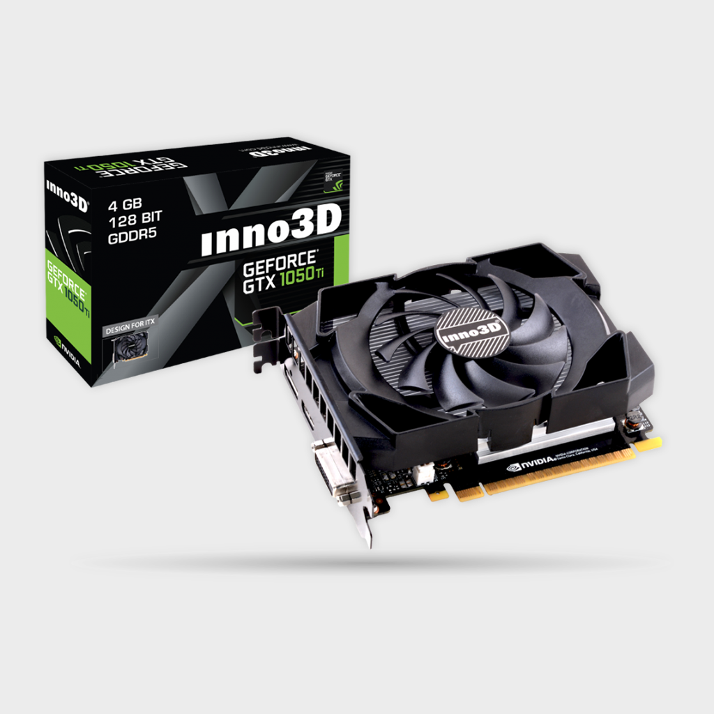 INNO3D GEFORCE GTX 1050 TI COMPACT Graphics Card-INNO3D-computerspace
