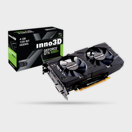 Inno3D GTX1050Ti Twin X2 4GB GDDR5 Graphics Card-INNO3D-computerspace