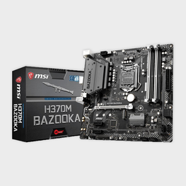 MSI H370M BAZOOKA Arsenal Gaming LGA 1151 Motherboard-MSI-computerspace